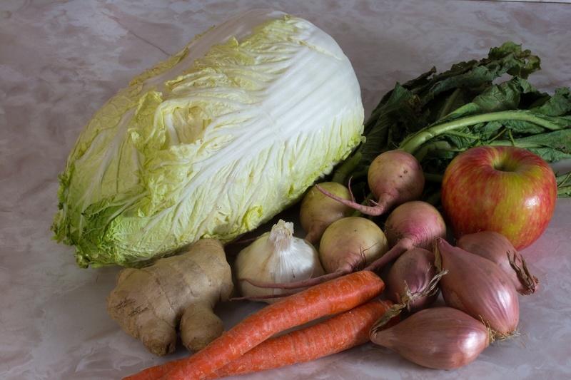 Classic Kimchi Vegetables